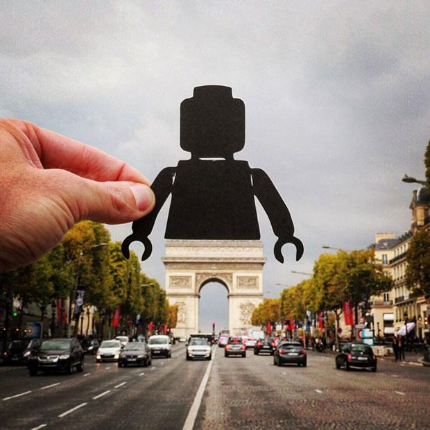 Arc de Triomphe ปารีส