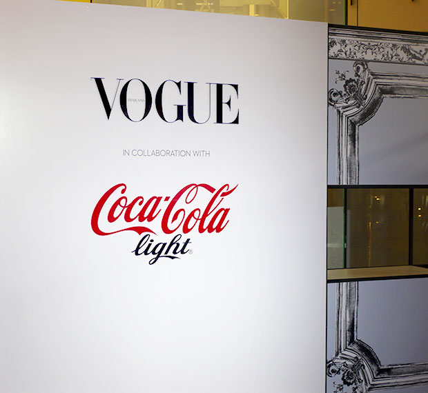 Vouge X Coca Cola light