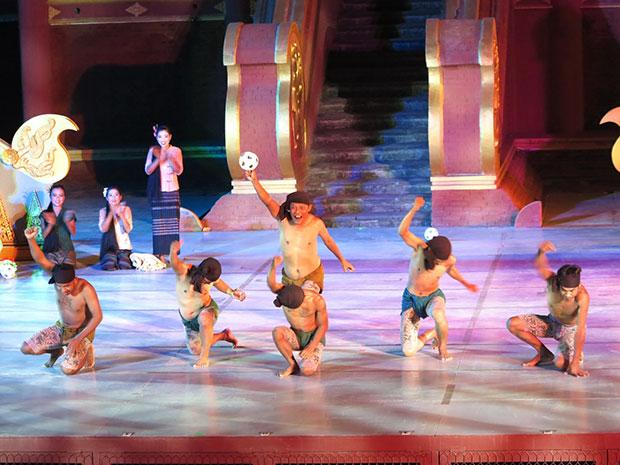 การแสดงวัฒนธรรมพม่า