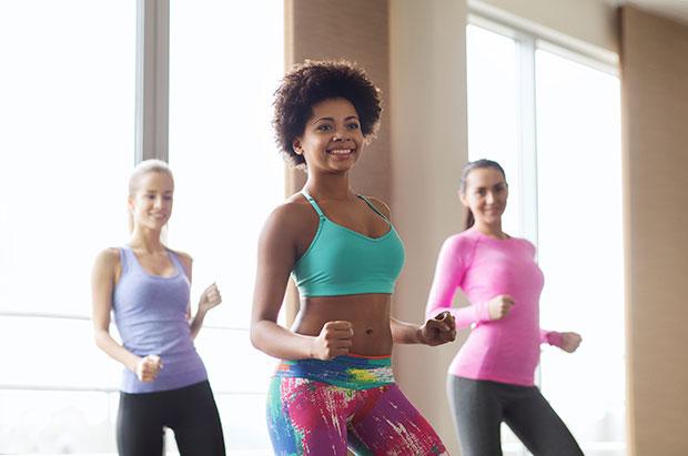 ข้อดีของการเต้นออกกำลังกาย