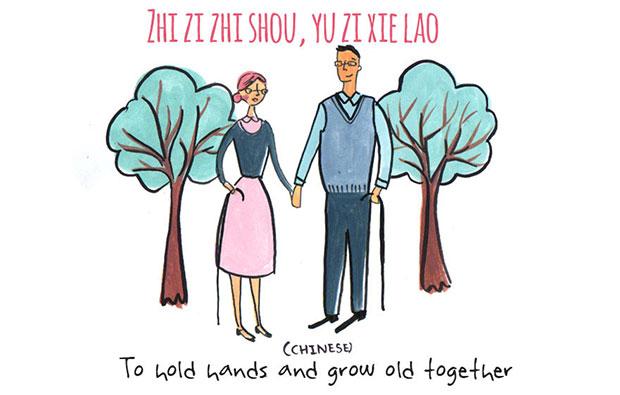 คำหวาน Zhi Zi Zhi Shou, Yu Zi Xie Lao