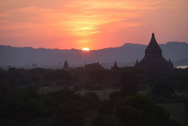 ชมพระอาทิตย์ขึ้น–ตก ประเทศเมียนมาร์