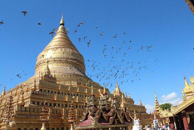 ชมเจดีย์ ประเทศพม่า