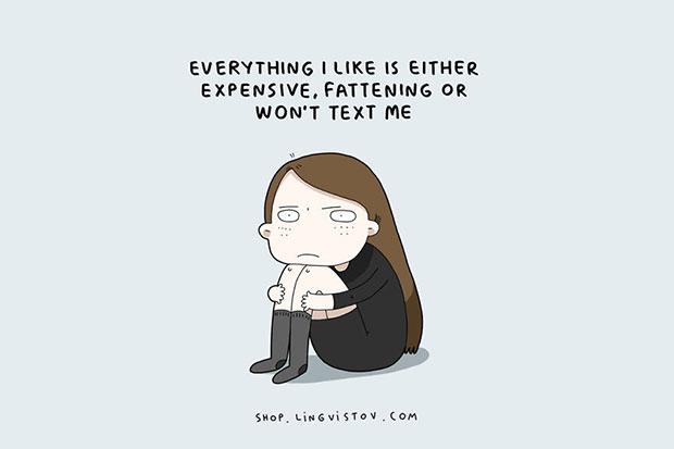 ทุกสิ่งที่ฉันชอบทั้งราคาแพงและทำให้อ้วน