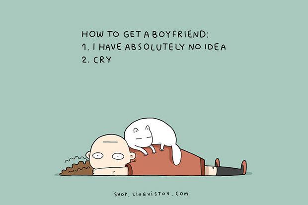 วิธีหาแฟน 1.ไม่รู้เลยจริงๆ 2.ร้องไห้