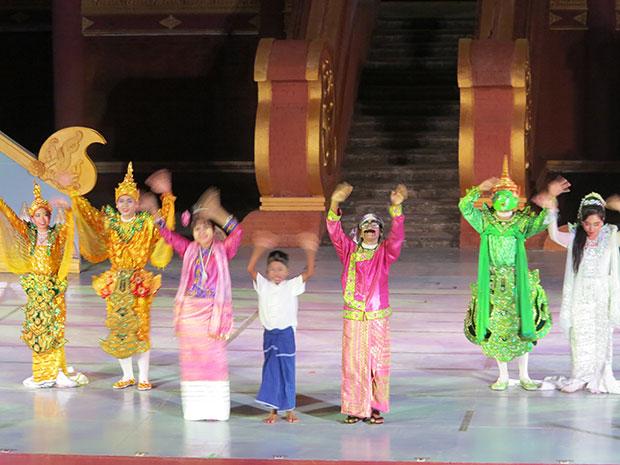 ศิลปวัฒนธรรมของพม่า