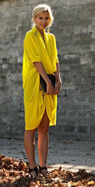 แฟชั่นสีเหลือง