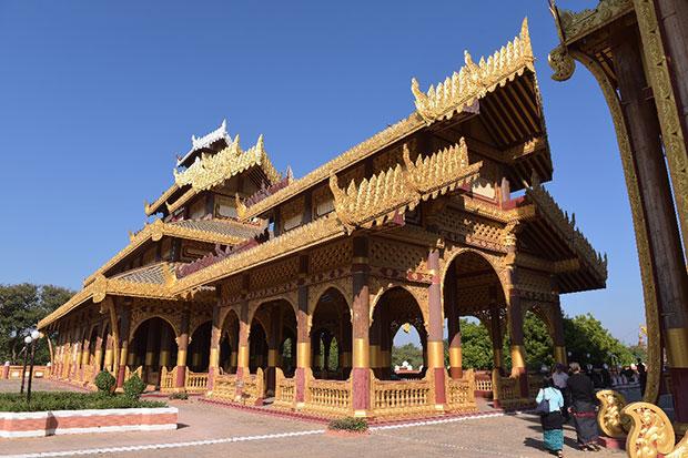 Bagan Golden Palace และ Dandaree Show