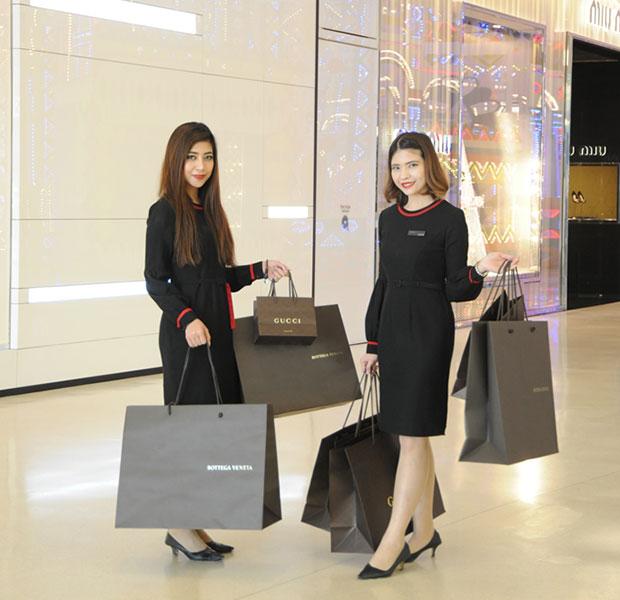 บริการ Hands free shopping ของเซ็นทรัลชิดลมและเซ็นทรัลเอ็มบาสซี