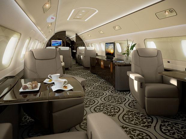 เครื่องบินที่มีมูลค่าถึง 1,700 ล้านบาท