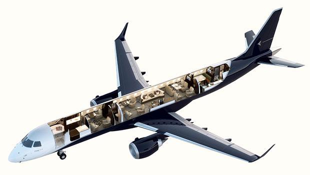 เครื่องบินที่มีมูลค่าถึง 53 ล้านเหรียญ