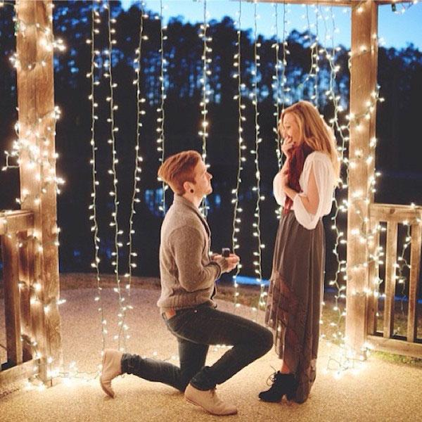 การขอแต่งงานแบบโรแมนติก