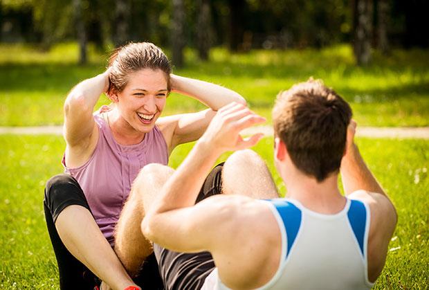 คนรักของคุณเป็นคู่หูที่ดีในการมีสุขภาพดีหรือเปล่า