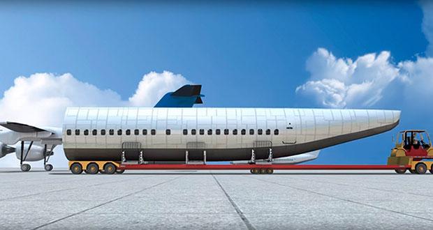 ห้องโดยสารที่แยกออกจาตัวเครื่องบินได้