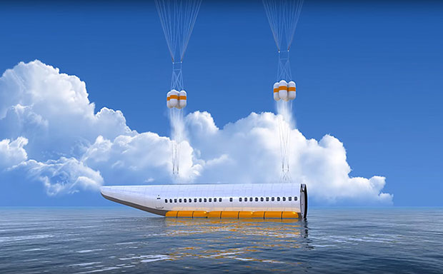เครื่องบินที่สามารถแยกห้องโดยสารออกได้