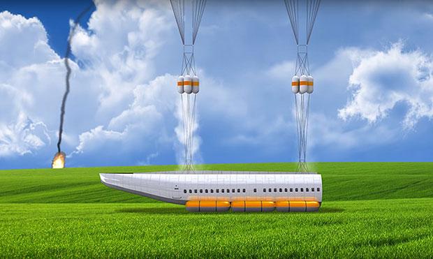 เครื่องบินที่แยกห้องโดยสารออกได้