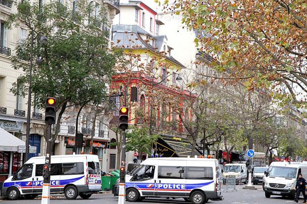 เหตุโจมตีในปารีส