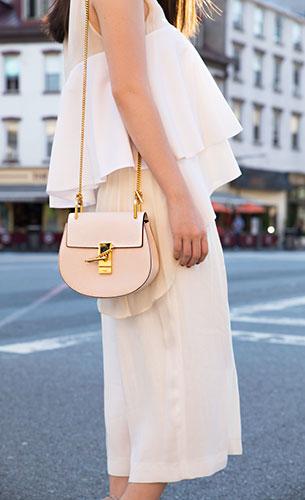 กระเป๋า Chloe Drew สีเบจ