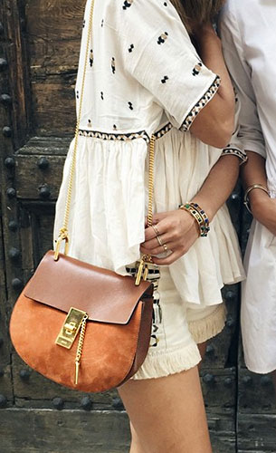 กระเป๋า Chloe Drew หนังกลับ