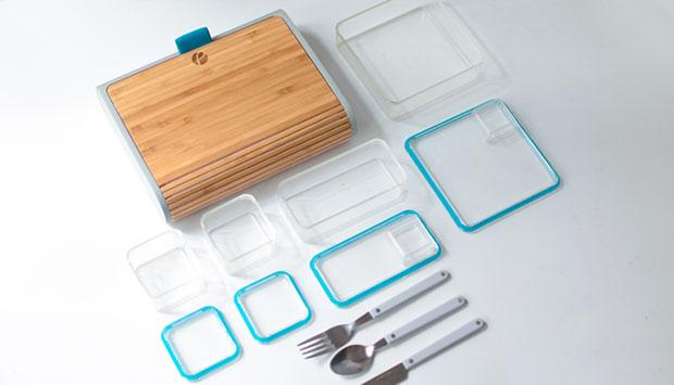 กล่องข้าวและแอพจัดเตรียมอาหาร