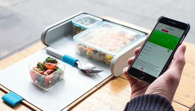 กล่องข้าวและแอพวางแผนและจัดเตรียมอาหารมื้อเที่ยง