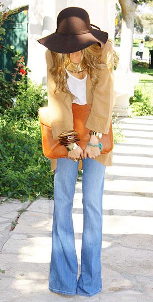 กางเกงขาบานยุค 70s
