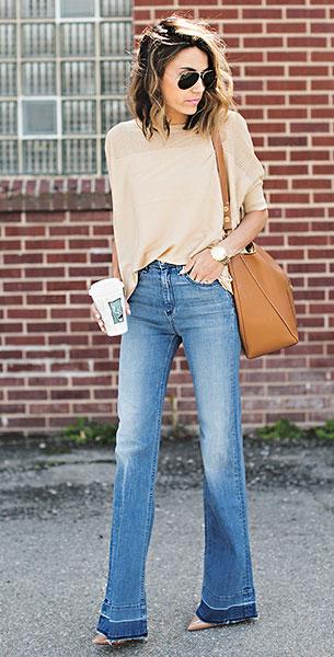 กางเกงขาบานแฟชั่นยุค 70