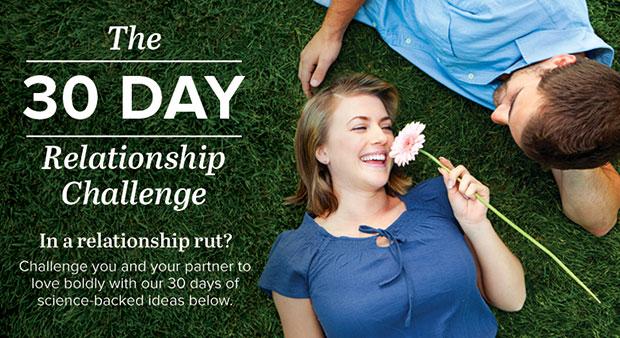 การทดลองในการเสริมสร้างความสัมพันธ์ใน 30 วัน