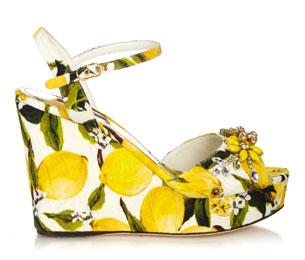 รองเท้าส้นเตารีด Dolce & Gabbana