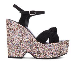 รองเท้าส้นเตารีด Saint Laurent