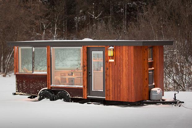 สัมผัสความสวยงามภายในบ้านส่วนตัวสุดหรูที่มีพื้นที่เพียง 15 ตารางเมตร