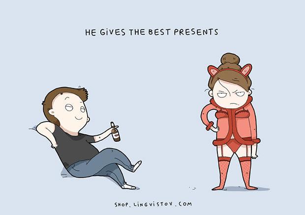 เขาให้ของขวัญชิ้นที่ดีที่สุด