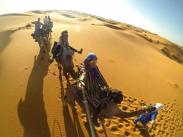เดินทางไปขี่อูฐในทะเลทรายซาฮารา