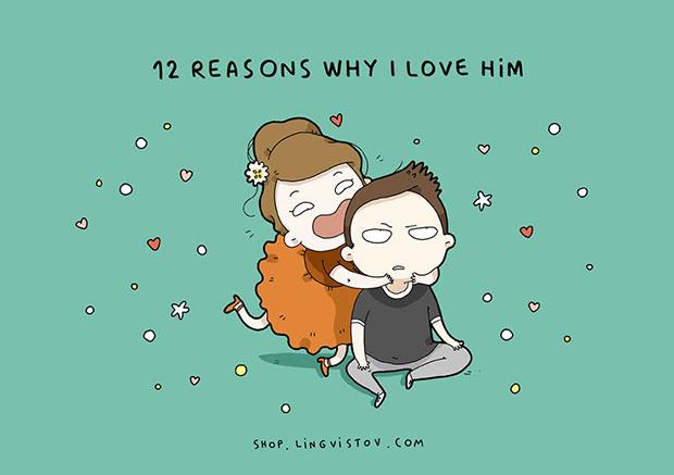 เหตุผลที่ทำให้ฉันรักเขาหมดใจ