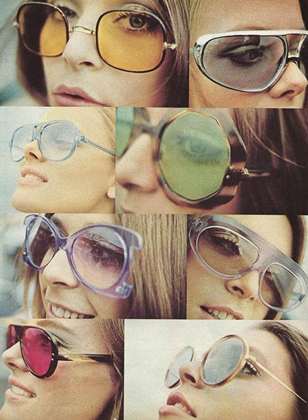 แว่นตากันแดดแฟชั่นยุค 70