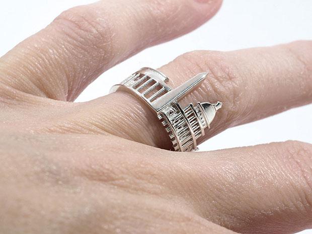 แหวนรูปกรุงวอชิงตัน ดีซี
