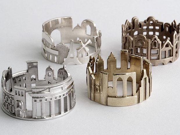 แหวนรูปเมือง