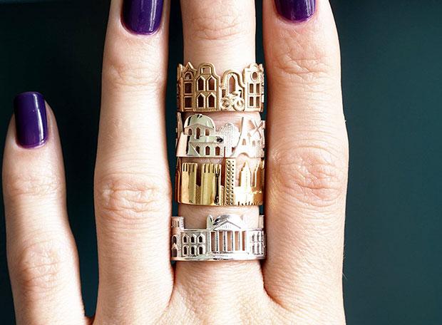 แหวนแฟชั่นที่จะทำให้คุณได้สวมมหานครในฝันติดนิ้วไปได้ทุกที่