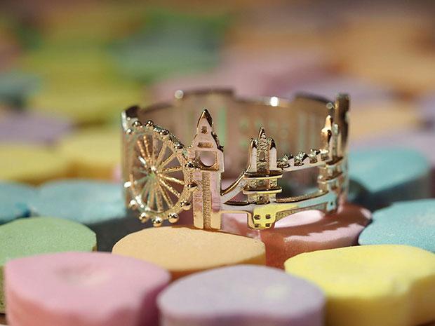 แหวนแฟชั่นรูปกรุงลอนดอน