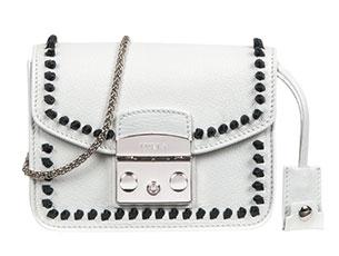 กระเป๋า FURLA Metropolis สีขาว