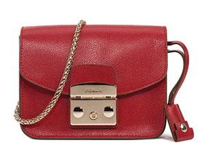 กระเป๋า FURLA Metropolis สีแดง