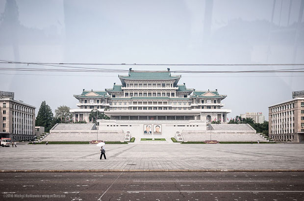 จัตุรัสคิมอิลซุง เกาหลีเหนือ
