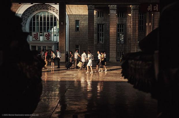 ภาพถ่ายจากเมืองเปียงยาง
