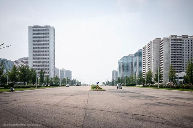 ภาพถ่ายเกาหลีเหนือ เมืองเปียงยาง