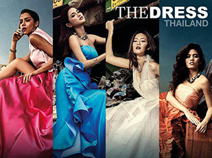 สาว The Face Thailand โพสท่าบนกองขยะ