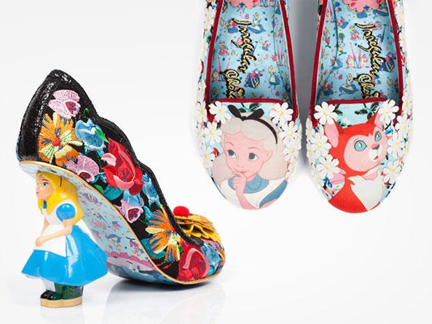 เนรมิตรองเท้าจากเรื่องอลิซในดินแดนมหัศจรรย์