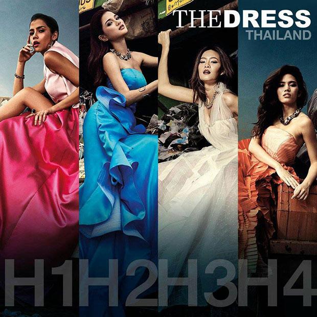 4 สาว The Face Thailand โพสท่าบนกองขยะ
