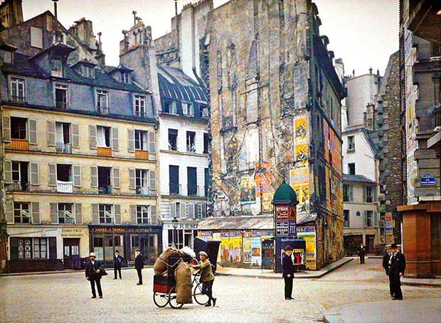 กรุงปารีส 100 ปีก่อน