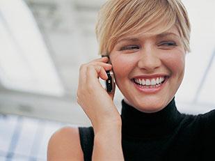 ข้อเสียของโทรศัพท์ที่มีต่อผิวหน้า