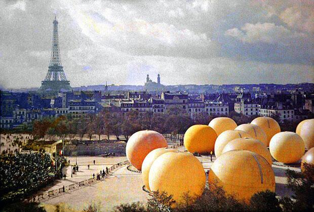 ปารีส 100 ปีก่อน